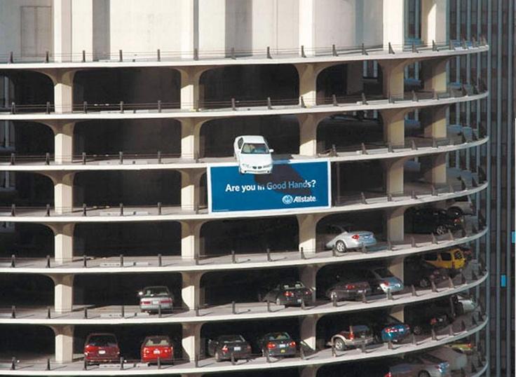 Allstate Insurance - Guerilla Marketing