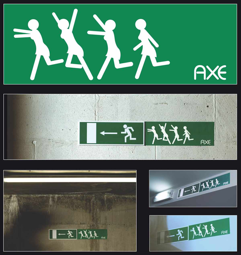 Axe - Ambient Marketing