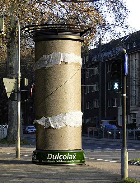 Dulcolax - Guerilla Marketing