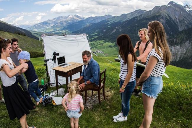 Graubünden - Live-Übertragung von der Alm