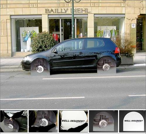 Versicherung - Autoreifen gestohlen