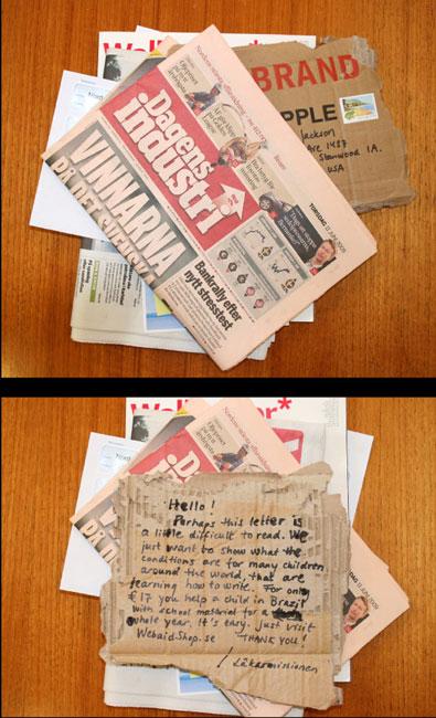 Läkarmissionen - Guerilla Mailing