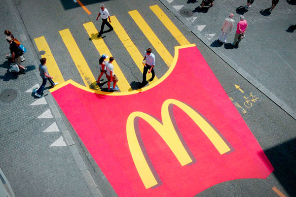 McDonalds - Ambient Marketing