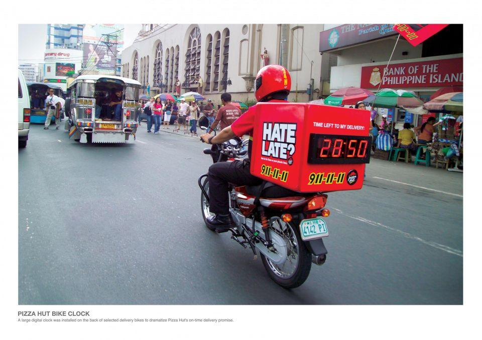 Pizza Hut - Guerilla Marketing