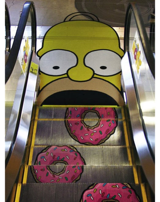 Simpsons Movie - Guerilla Marketing