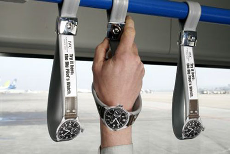 IWC Watches - Ambient Marketing
