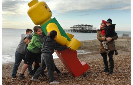 LEGO - Guerilla Marketing am Strand