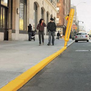 Ambient Marketing Idee Straße