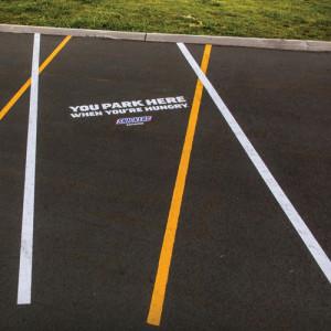 Snickers Parkplatz