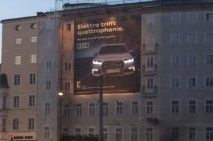 Audi Guerilla Plakat