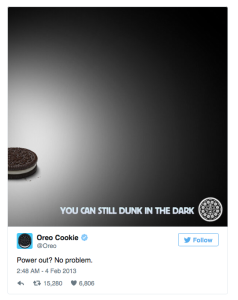 oreo real time marketing