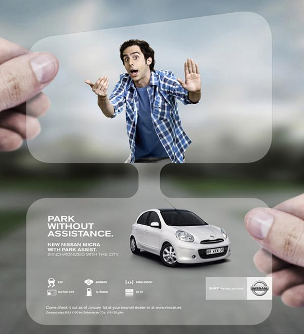 auto nissan guerilla marketing